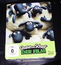 SHAUN DAS SCHAF DER FILM  LIMITIERTE STEELBOOK EDITION BLU RAY NEU & OVP