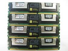 Kingston 4GB Fully Buffered Server RAM PC2-5300F KVR667D2D4F5/4GI (Lot of 4)