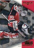 MARTIN BRODEUR 2000-01 UD Black Diamond Diamond Skills #IC4 New Jersey Devils