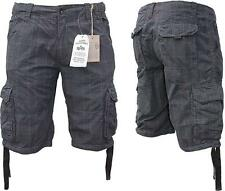 Alpha Industries JET II SHORT NOIR CKD W31