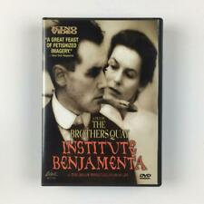 Institute Benjamenta or This Dream People Call Human Life DVD Brothers Quay