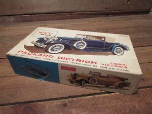 Vintage HUBLEY PACKARD DIETRICH CONV-VICTORIA CAR 1/22 SCALE METAL KIT No. 4863