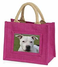 American Staffordshire Bull Terrier Dog Little Girls Small Pink Shop, AD-SBT5BMP