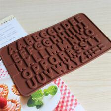 Sonstige Confident Silikonform Pralinenform Schokoladenform Backform Buchstaben Set Eiswürfel Special Summer Sale Backbleche & -formen