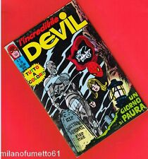 L'INCREDIBILE DEVIL N. 51 Corno 1971 no busta