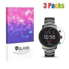 Screen Protector for Fossil Q Explorist HR Gen 4 9H Hardness Tempered Glass 3pcs