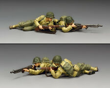 KING & COUNTRY D DAY DD320 U.S. ARMY RANGERS ON THE BEACH MIB