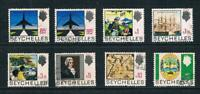 Seychelles 1969 Top High Values - History Set - SC 265-271 [SG 272-279] USED 20