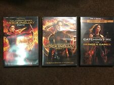 The Hunger Games Collection:2 DVD 1 Disc Set & 1 DVD 2 Disc Set (FREE SHIPPING)!