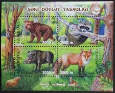 Z778 AZERBAIJAN 2003 Animals, Bear, Fox, etc S/S Mint NH