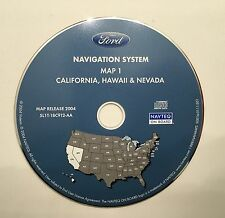 Ford NAV CD 2004 Disc 1 For States CA NV HI NAVTEQ