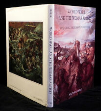 WORLD WAR 1 & The Weimar Artists | Eberle HB Book 1985 | Illustrated in Color