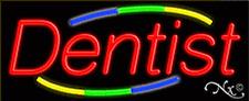 "BRAND NEW ""DENTIST"" 32x13 REAL NEON SIGN w/CUSTOM OPTIONS 10780"