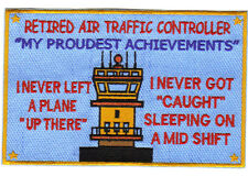 RETIRED AIR TRAFFIC CONTROLLER PATCH.
