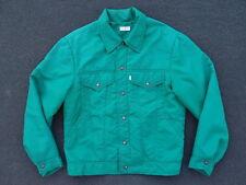 Vintage 70s 80s Levis Nylon Trucker Jacket Size M Western Rare Coat LVC