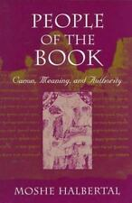 People of the Book: Canon, Meaning, and Authority-ExLibrary