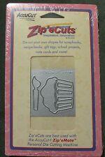 NIP Zip'e Cuts ZFP098 Family Preserves-Cupcake Die Cutter by AccuCut