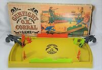 VINTAGE Gunfight at the OK Corral Game by IDEAL Original BOX Complete VERY NICE!