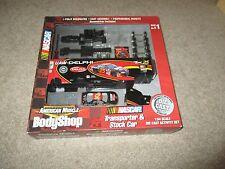 American Muscle Body Shop Transporter & Stock Car Model Kit Jerry Nadeau MIB