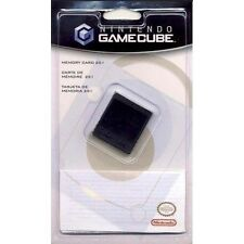 GENUINE NINTENDO GAMECUBE MEMORY CARD 251 BLOCK BRAND NEW & SEALED