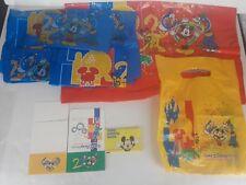 Lot of Walt Disney World Theme Park 2000 MILLENNIUM Shopping Bags Box Pass Guide