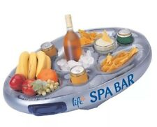 Inflatable Spa Bar Hot Tub Ice Wine Beer Drinks Food Holder Floating Party Tray