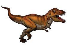 Sticker decal dinosaur dino jurassic wall room kid tyrannosaurus t rex brown