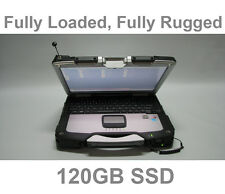 Rugged Panasonic Toughbook CF-30 Touch,  Win 7 64bit, 128GB SSD, 4GB RAM, DVD
