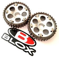 Blox Adjustable Cam Gears 90-01 Integra DOHC B16 B17 B18 B20 H23A1 2 Pcs