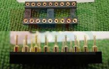 100,18 PIN GOLD DIP IC SOCKET BASE PANEL PCB ADAPTER,G18S