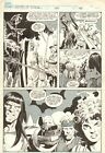 Savage Sword of Conan #186 p.45 - Close-up & Dark Knight Killing by Steve Carr
