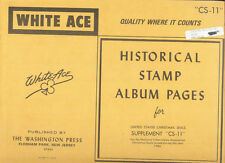 WHITE ACE CHRISTMAS SEALS 1984
