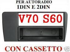 MASCHERINA AUTORADIO VOLVO V70 S60 XC70 1DIN 1 DIN