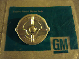 GM NOS Gas Cap S Rivot SMC Vented Anti Surge Chevelle Camaro Firebird GTO Olds