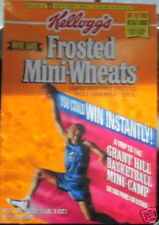 Kellogg's Frosted Mini-wheats Grant Hill FILA 1989