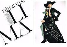 PUBLICITE ADVERTISING 2013 ETOILE DE LIMA KATE MOSS  MARIO TESTINO (14 PHOTOS)