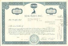 Seal Fleet > shipping stock certificate share seal vig