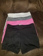 4 Pair Girls Size XL 14/16 Modesty Shorts 4 Colors  e29