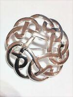 Sterling Silver Celtic Design Brooch