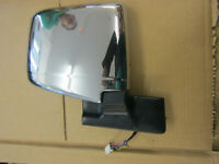 NISSAN ELGRAND E50 CHROME ELECTRIC DRIVERS RIGHT OFF SIDE DOOR WING MIRROR