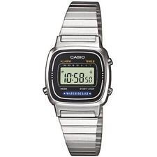 Casio Ladies Vintage Digital Watch La670 Black