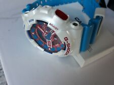 Casio G-Shock GA-110AC-7A Multicolour White Red Blue Limited Rare+Free Keyring