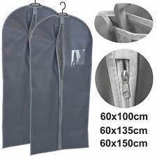 2x Kleidersack Kleiderschutzhülle Kleiderhülle Schutzhülle Kleideraufbewahrung