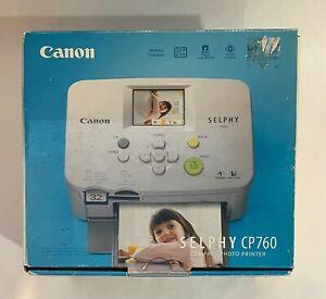Canon Selphy CP760 Compact Photo Photograph Printer Portable Brand New Open Box