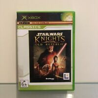Star Wars: Knights of the Old Republic - XBOX - PAL - FREE SHIPPING