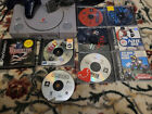 Sony Playstation 1 PS1 Console System With Cords and 9 Games Tested Working
