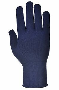 Portwest A115 Thermal Liner Glove Secure Fit Comfort Navy - 120,240 & 480 Pairs