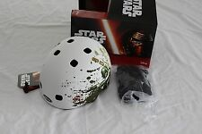 New Bell Segment Jr. Star Wars Boba Fett Kids Bike Helmet Skate XS X-Small White