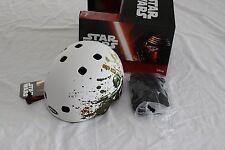 New Bell Segment Jr. Star Wars Boba Fett Kids Bike Helmet Skate Small White