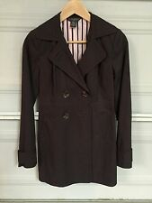 Banana Republic Cotton Trench Coat / Jacket - Brown - Extra Small - XS
